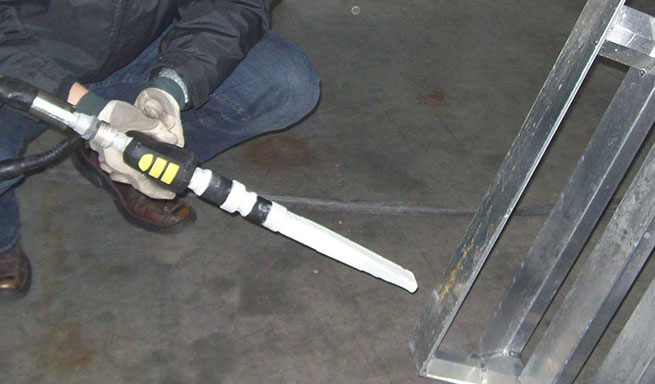 Aluminium-Paletten Reinigung bei Metallbau Hercher
