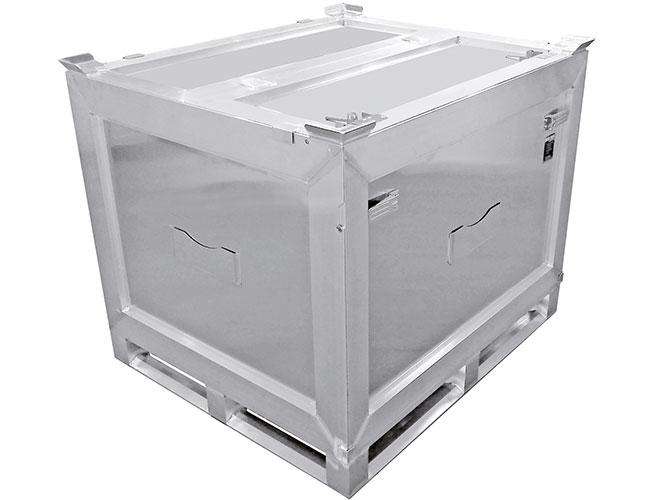 Alu-Container (außen) von Hercher Metallbau