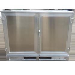 Aluminium-Container mit Doppeltür von Hercher Metallbau
