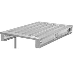 Aluminium-Europalette 4LS 2TK von Hercher Metallbau