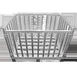 Aluminium-Gitterbox von Hercher Metallbau