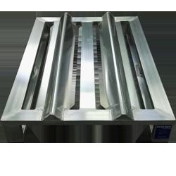 Aluminium-Sonderpalette mit fester Rollensicherung von Hercher Metallbau