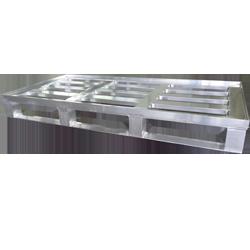 Aluminium-Sonderpalette mit Rand - Hercher Metallbau
