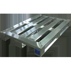 Aluminium-Sonderpalette mit Spezialprofil 2000kg von Hercher Metallbau