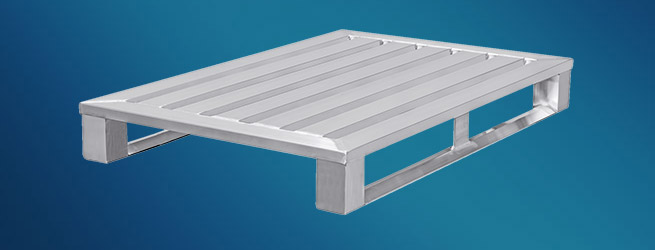 Standardpaletten Aluminium Europalette Hercher Metallbau