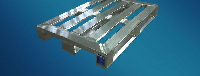Aluminium Sonderpalette mit Spezialprofil von Hercher Metallbau